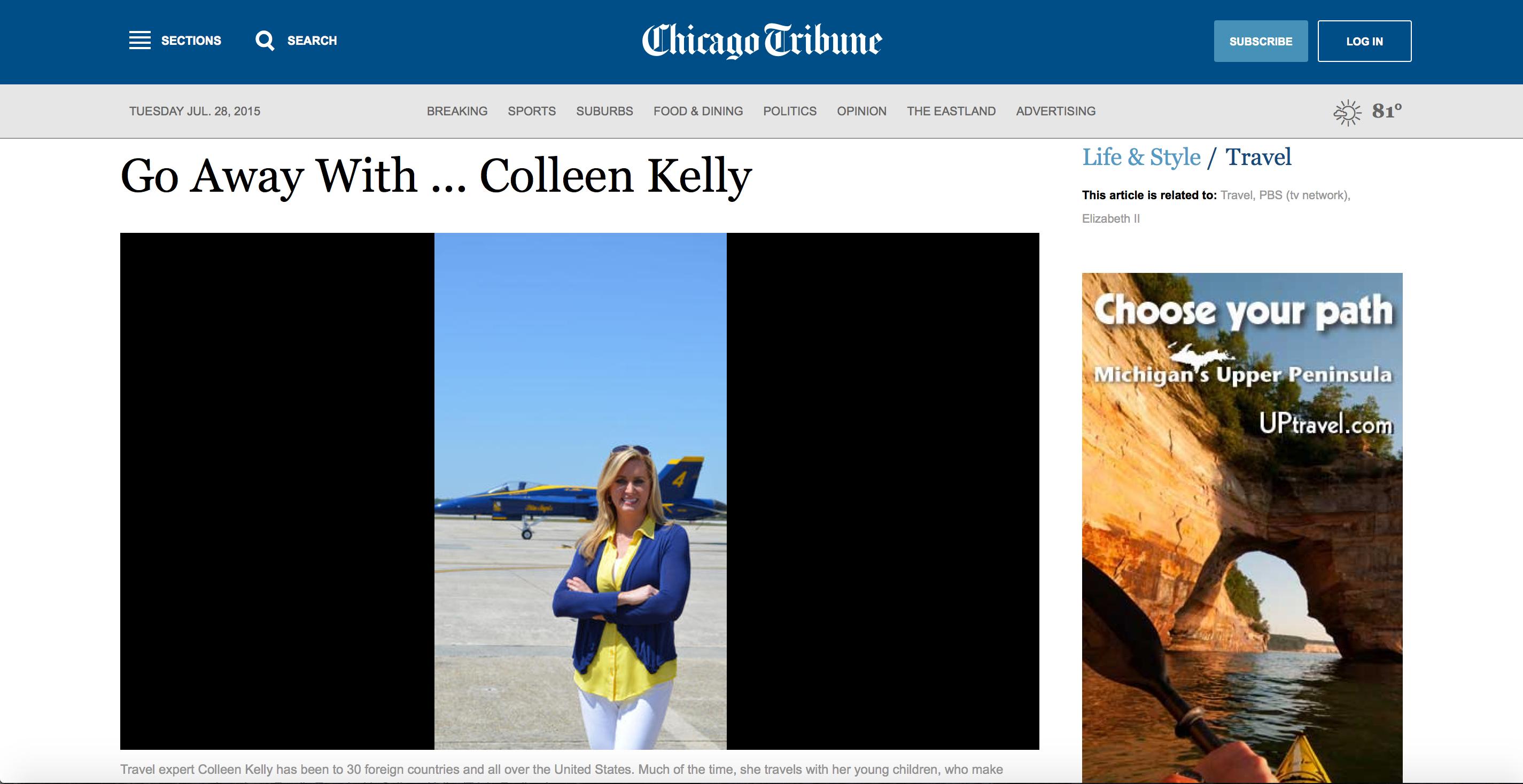 Chicago Tribune: Go Away With…