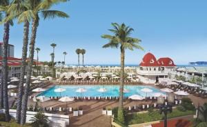 Hotel del Coronado located in Coronado, California.