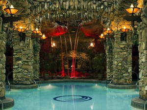 The Omni Grove Park Inn Hotel and Resort located in Asheville, North Carolina.
