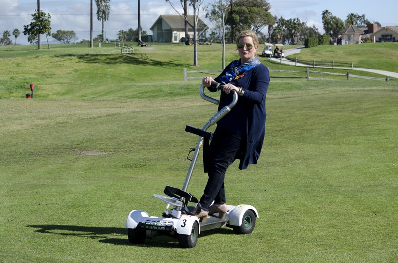 Surf cart on the golf course in Oxnard, CA