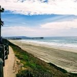 Visiting the beaches of San Diego