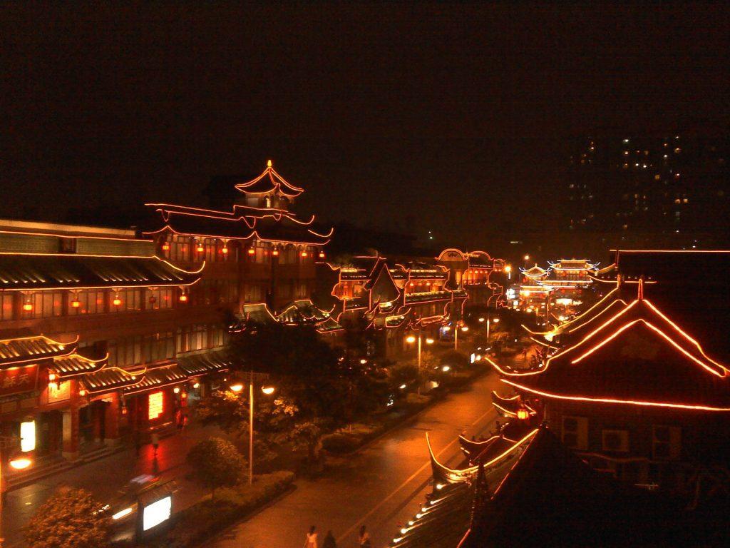 Visiting downtown China