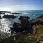 Beaches of California in Mendocino County, California