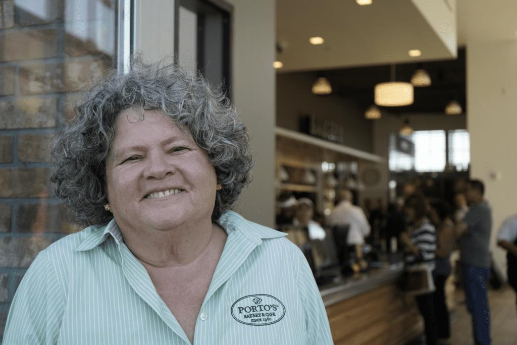 Betty Porto, of Porto's Bakery and Cafe in Orange County