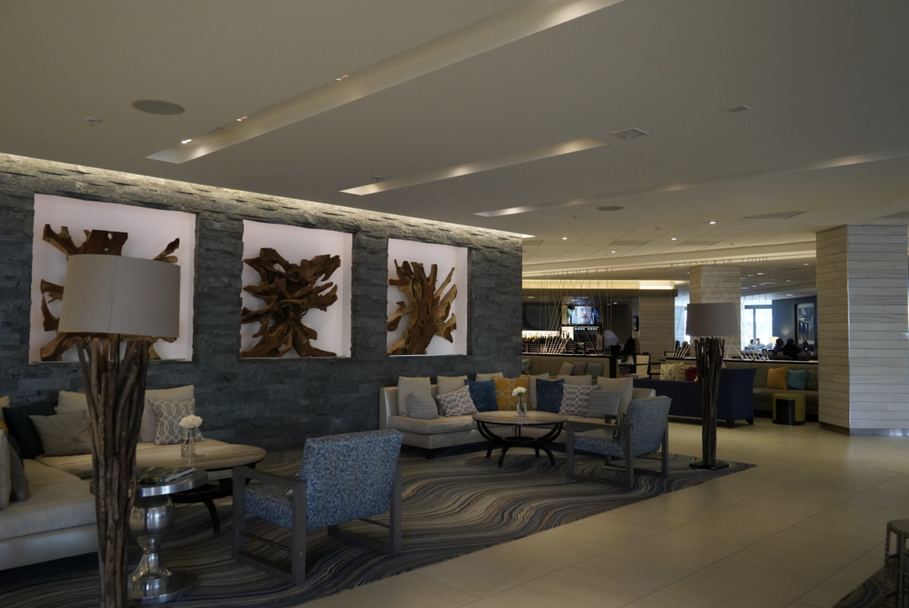 Newly renovated Irvine Marriott is a modern, comfortable space!