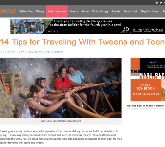 14 Tips for Traveling With Tweens and Teens